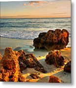 Brighton Beach Wa Metal Print by Imagevixen Photography