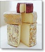 Cheese Selection Metal Print by David Munns