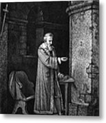 Galileo Galilei (1564-1642) Metal Print by Granger