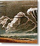 German Cloud Atlas, 1819 Metal Print by Science Source