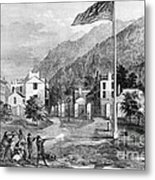 Harpers Ferry Insurrection, 1859 Metal Print by Photo Researchers