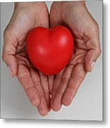 Heart Disease Prevention Metal Print by Photo Researchers, Inc.