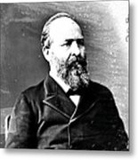 James A. Garfield, 20th American Metal Print by Photo Researchers