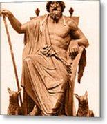Odin, Norse God Metal Print by Photo Researchers