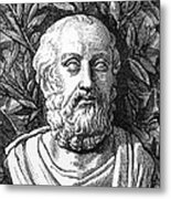 Plato, Ancient Greek Philosopher Metal Print by