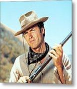 Rawhide, Clint Eastwood, 1959-66 Metal Print by Everett
