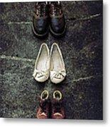 Shoes Metal Print by Joana Kruse