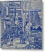 South Congress Metal Print by William Cauthern