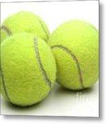 Tennis Balls Metal Print by Blink Images