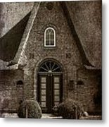 Thatch Metal Print by Joana Kruse
