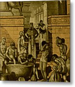 The Art Of Brewing, Babylon Metal Print by Science Source