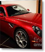 2008 Alfa Romeo 8c Competizione - 7d17230 Metal Print by Wingsdomain Art and Photography