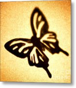 Butterfly Metal Print by Tony Cordoza