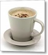 Cappuccino Coffee  Metal Print by Blink Images