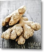 Ginger Root Metal Print by Elena Elisseeva