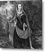 Mary Queen Of Scots Metal Print by Photo Researchers