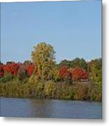October In Michigan Metal Print by Margrit Schlatter