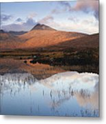 Rannoch Moor At Sunrise Metal Print by Gabor Pozsgai