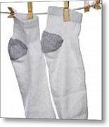 Socks Metal Print by Blink Images