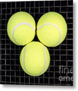 Time For Tennis Metal Print by John Van Decker