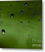 Drops Metal Print by Odon Czintos