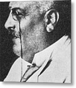 Alois Alzheimer, German Neuropathologist Metal Print by Science Source