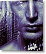 Artificial Intelligence Metal Print by Coneyl Jay