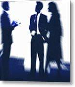 Business People Metal Print by Pasieka