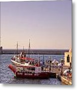 Chania - Crete Metal Print by Joana Kruse
