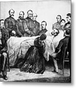 Death Of Lincoln, 1865 Metal Print by Granger