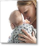 Mother And Baby Metal Print by Ruth Jenkinson