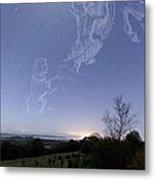 Night Sky Metal Print by Laurent Laveder