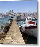 Paros - Cyclades - Greece Metal Print by Joana Kruse