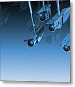 Surveillance, Conceptual Image Metal Print by Victor Habbick Visions