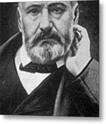 Victor Hugo, French Author Metal Print by Photo Researchers
