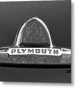 49 Plymouth Emblem Metal Print by David Lee Thompson