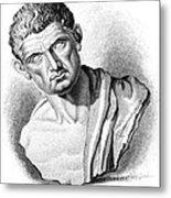 Aristotle, Ancient Greek Philosopher Metal Print by Science Source