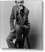 Jack Paar 1918-2004, American Metal Print by Everett