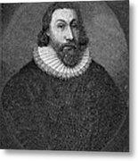 John Winthrop (1588-1649) Metal Print by Granger