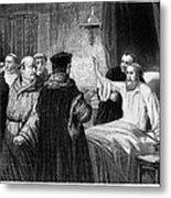 John Wycliffe (1320?-1384) Metal Print by Granger