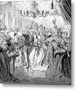 Perrault: Cinderella, 1867 Metal Print by Granger