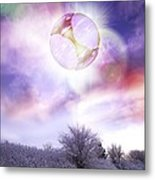Ufo, Artwork Metal Print by Victor Habbick Visions