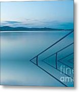 Blue Lake Metal Print by Odon Czintos