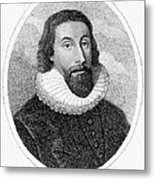 John Winthrop (1588-1649) Metal Print by Granger