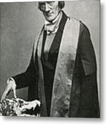 Richard Owen, English Paleontologist Metal Print by Science Source