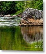 Williams River Scenic Backway Metal Print by Thomas R Fletcher