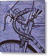 Bike 2 Metal Print by William Cauthern
