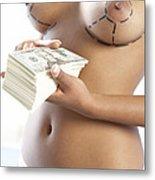 Cosmetic Breast Surgery Metal Print by Adam Gault