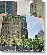 9/11 Memorial Metal Print by Gwyn Newcombe
