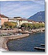 Ascona - Ticino Metal Print by Joana Kruse
